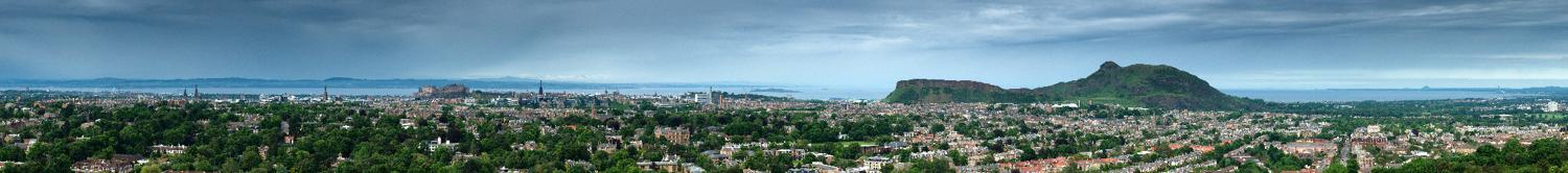 View of Edinburgh from Blackford Hill I