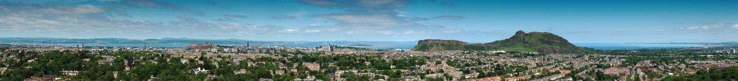 Panormaa View of Edinburgh from Blackford Hill V